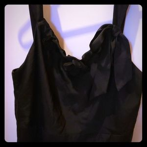 Black Dress. Great for a wedding..